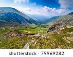 landscape with urdele peak of...   Shutterstock . vector #79969282