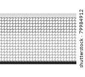 seamless tennis net. vector. | Shutterstock .eps vector #79984912
