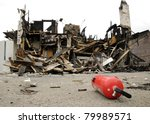 Dramatic Landscape After Fire
