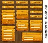 Illustration Of Set Of Web For...