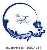decorative vector frame | Shutterstock .eps vector #80014369