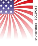 background with elements of usa ... | Shutterstock .eps vector #80029369