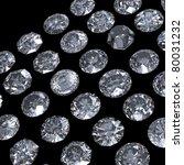 round brilliant cut diamond... | Shutterstock . vector #80031232
