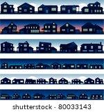 Stock vector vector city landscapes 80033143