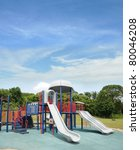 empty outdoor children park... | Shutterstock . vector #80046208