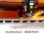industrial laser   Shutterstock . vector #80069644