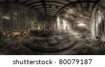 Panorama Of An Abandoned...