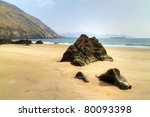 Keem Beach On Achill Island  C...