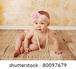 Adorable Young Baby Girl...