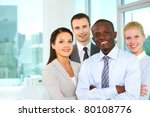 group of confident business... | Shutterstock . vector #80108776