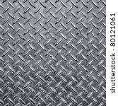 Background Of Metal Diamond...