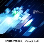 abstract vector background | Shutterstock .eps vector #80121418