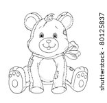 bear of roll | Shutterstock . vector #80125837