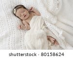 a beautiful six week old baby... | Shutterstock . vector #80158624