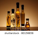 collection of bottles of olive... | Shutterstock . vector #80158858