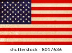 flag of america | Shutterstock . vector #8017636