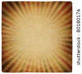 Square Shaped Sunburst Ornated...