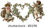 Vintage  Gilded Valentine Hear...