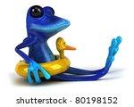 blue frog   Shutterstock . vector #80198152