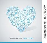 baby card | Shutterstock .eps vector #80242999