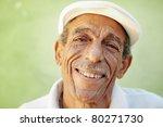 portrait of senior hispanic man ... | Shutterstock . vector #80271730