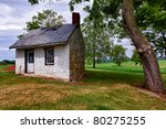 Old Stone White Washed Cottage...