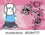 baseball kid background in...   Shutterstock .eps vector #80284777