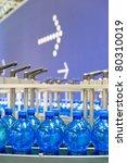 Bottling plant - stock photo