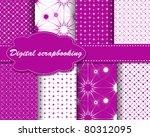 set of vector paper for... | Shutterstock .eps vector #80312095