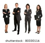 group of successful business... | Shutterstock . vector #80330116