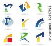 vector illustration of abstract ... | Shutterstock .eps vector #80347915