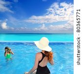 blue swimming pool with direct... | Shutterstock . vector #80365771