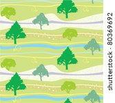 summer seamless pattern ... | Shutterstock .eps vector #80369692