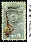 Usa   Circa 1984  A Stamp...