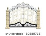 Old Forged  Decorative  Gates ...