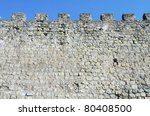 Fortified Castle  Wall Siguenz...