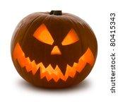 halloween pumpkin  scary jack o'... | Shutterstock . vector #80415343