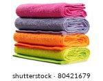 bath towel. isolated   Shutterstock . vector #80421679