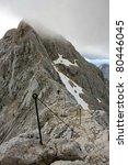 final climb on triglav peak... | Shutterstock . vector #80446045