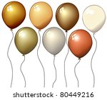 balloons | Shutterstock . vector #80449216