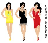 illustration of women | Shutterstock .eps vector #80450509