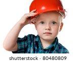 Little Boy In A Red...