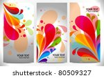abstract modern website banner... | Shutterstock .eps vector #80509327