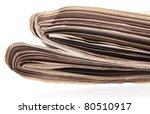 newspaper closeup   Shutterstock . vector #80510917