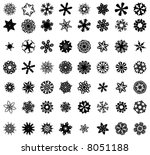 snowflakes vol 02 | Shutterstock .eps vector #8051188