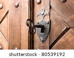 Antique Aged Key In Strong...