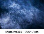 smoke illuminated beam of light.... | Shutterstock . vector #80540485