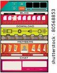 web design interface templates...