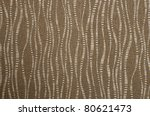 Brown Fabric Texture Wave Style