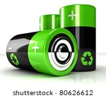 Fine 3d Image Of Green Eco...